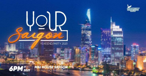 YOUR SAIGON - YEAR END PARTY 2020